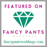 See Our Featured Work on Fancy Pants Weddings