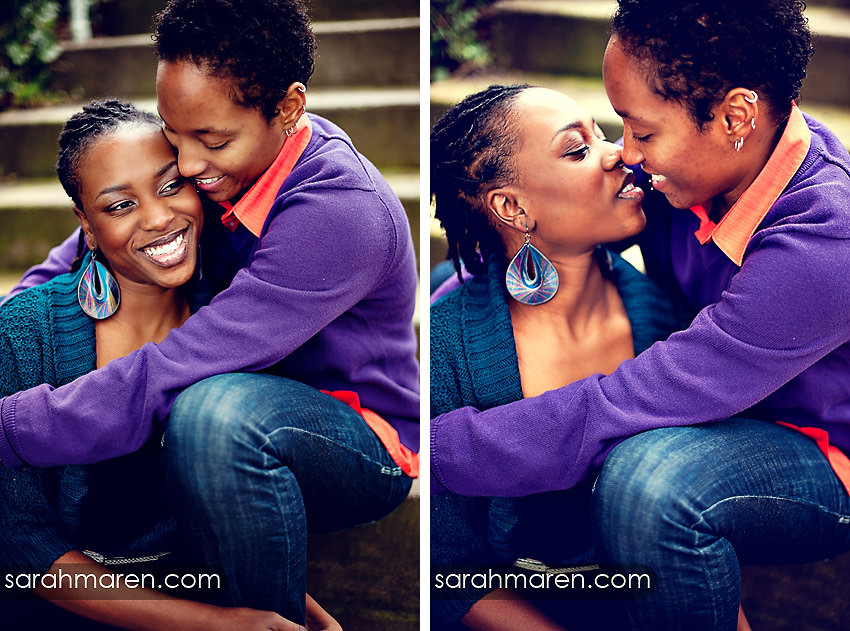 Love Is Love Engagement Photos by Sarah Maren Photography