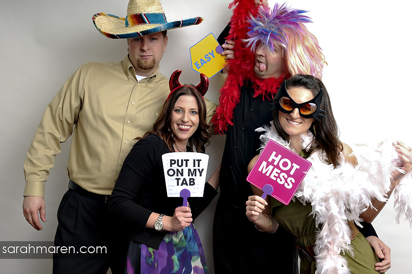 Wedding Photo Booth by Sarah Maren Photography