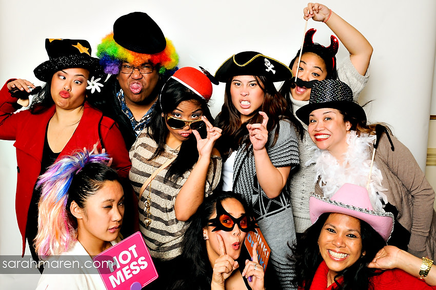 Aflac Party Photo Booth by Sarah Maren Photography