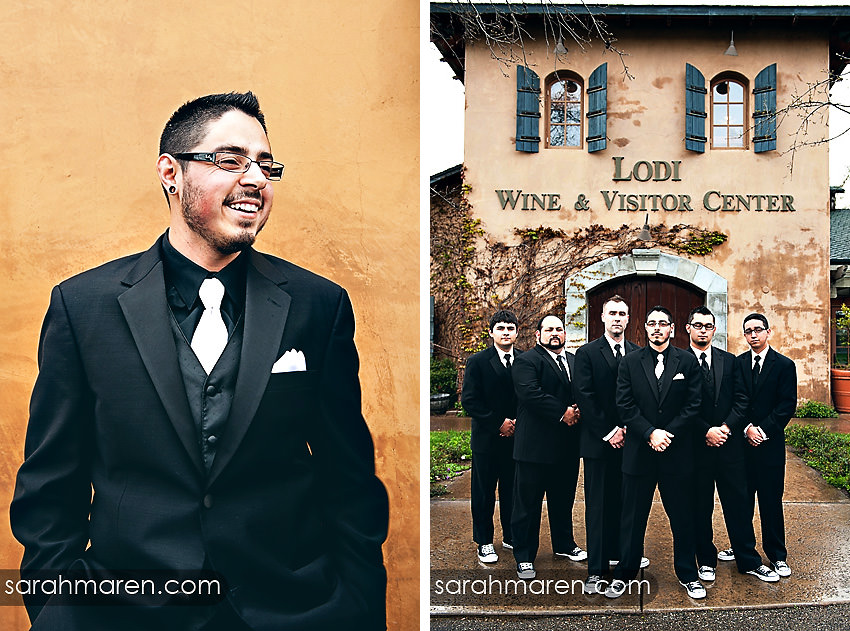 Wine and Roses Wedding by Sarah Maren Photography