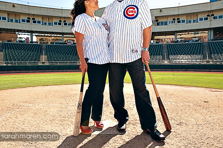Raley Field Engagement Photos by Sarah Maren Photography