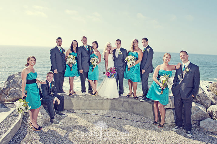 Lovely Half Moon Bay Wedding! by Sarah Maren Photography