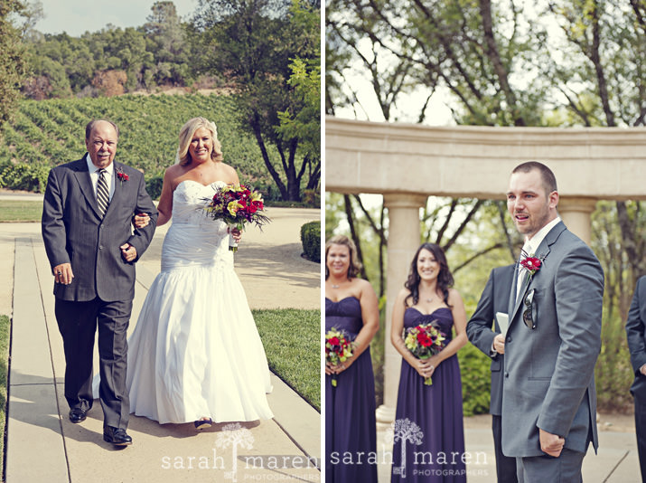David Girard Vineyards Wedding by Sarah Maren Photography