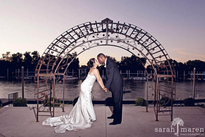 Wedding by the River by Sarah Maren Photography