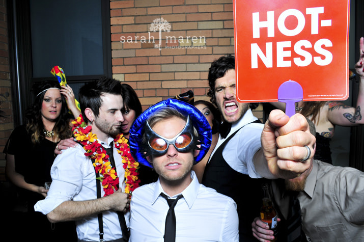 Rock Star Photo Booth by Sarah Maren Photography