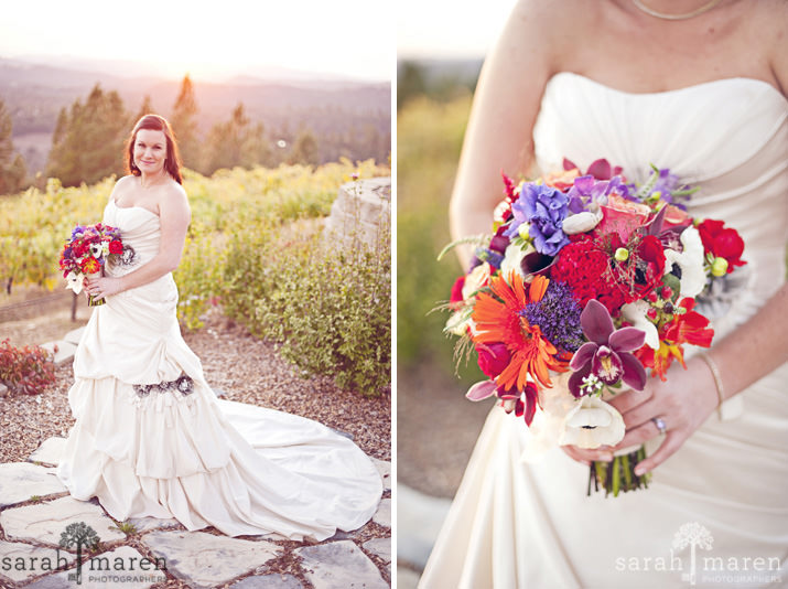 Lovely Fall Wedding by Sarah Maren Photography