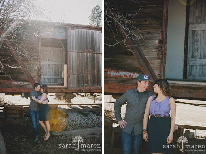 Truckee Engagement Session by Sarah Maren Photography