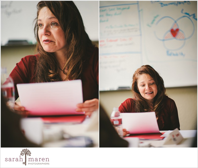Listen To Your Mother: Table Read One - photo by Sarah Maren Photography