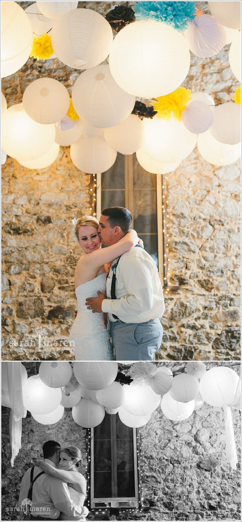 Miners Foundry Wedding - Photo by Sarah Maren Photography