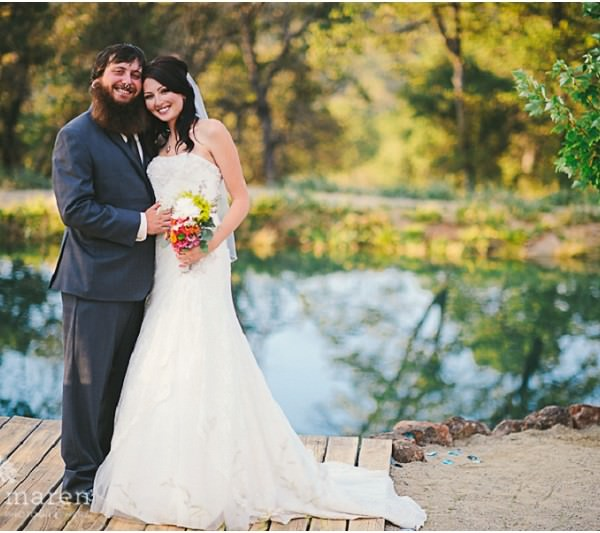 Katie and Richie's Beautiful At Home Wedding