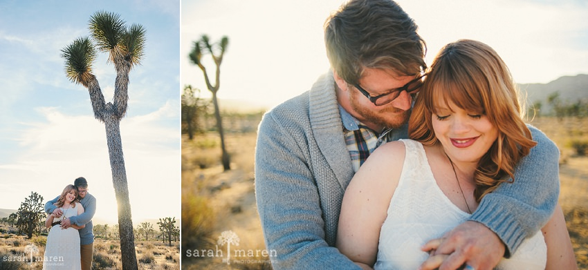 Maternity Portraits in Palm Springs and Joshua Tree by Sarah Maren Photography