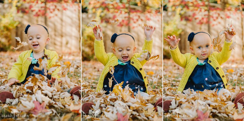 First Year Portraits by Sarah Maren Photography