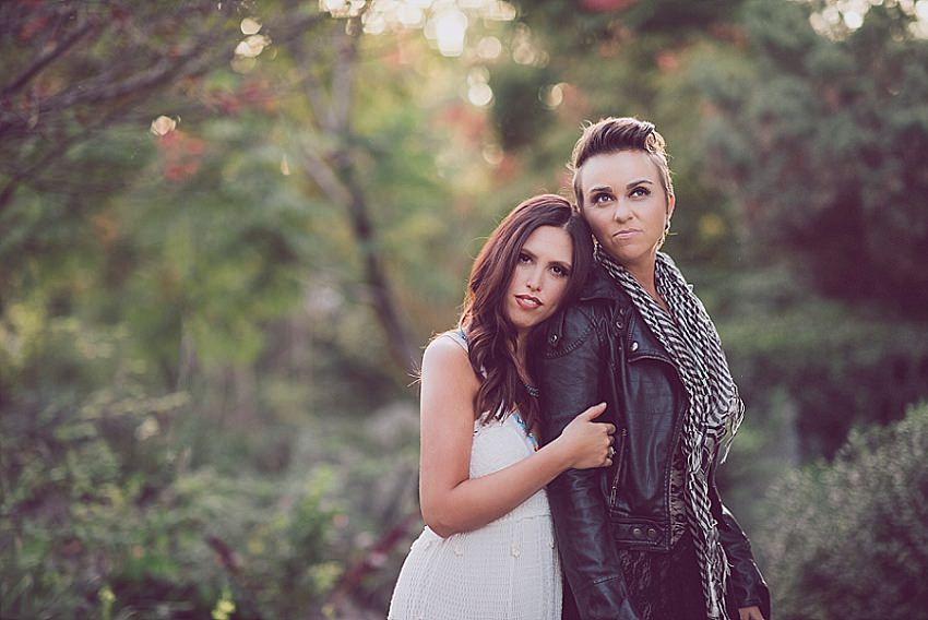 Fashionable Sacramento Engagement Session, Sarah Maren Photography, Sacramento Wedding Photographer, Sacramento Wedding Photography, William Land Park Engagement Session, Lesbian Engagement Session, Same Sex Wedding Photos, LGBT Wedding Photography, Same Sex Engagement Photos