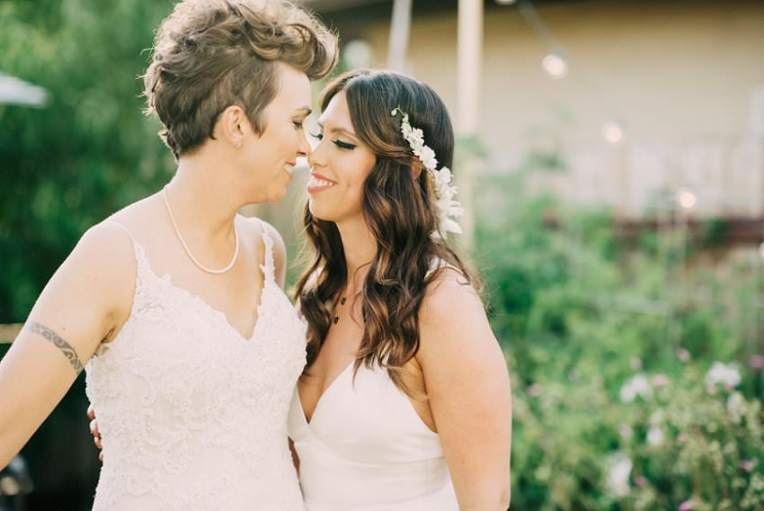 Backyard Wedding Sacramento, Lesbian Wedding, Two Dress Wedding, Same sex wedding, LGBT Photographer, Sacramento LGBT Wedding Photographer