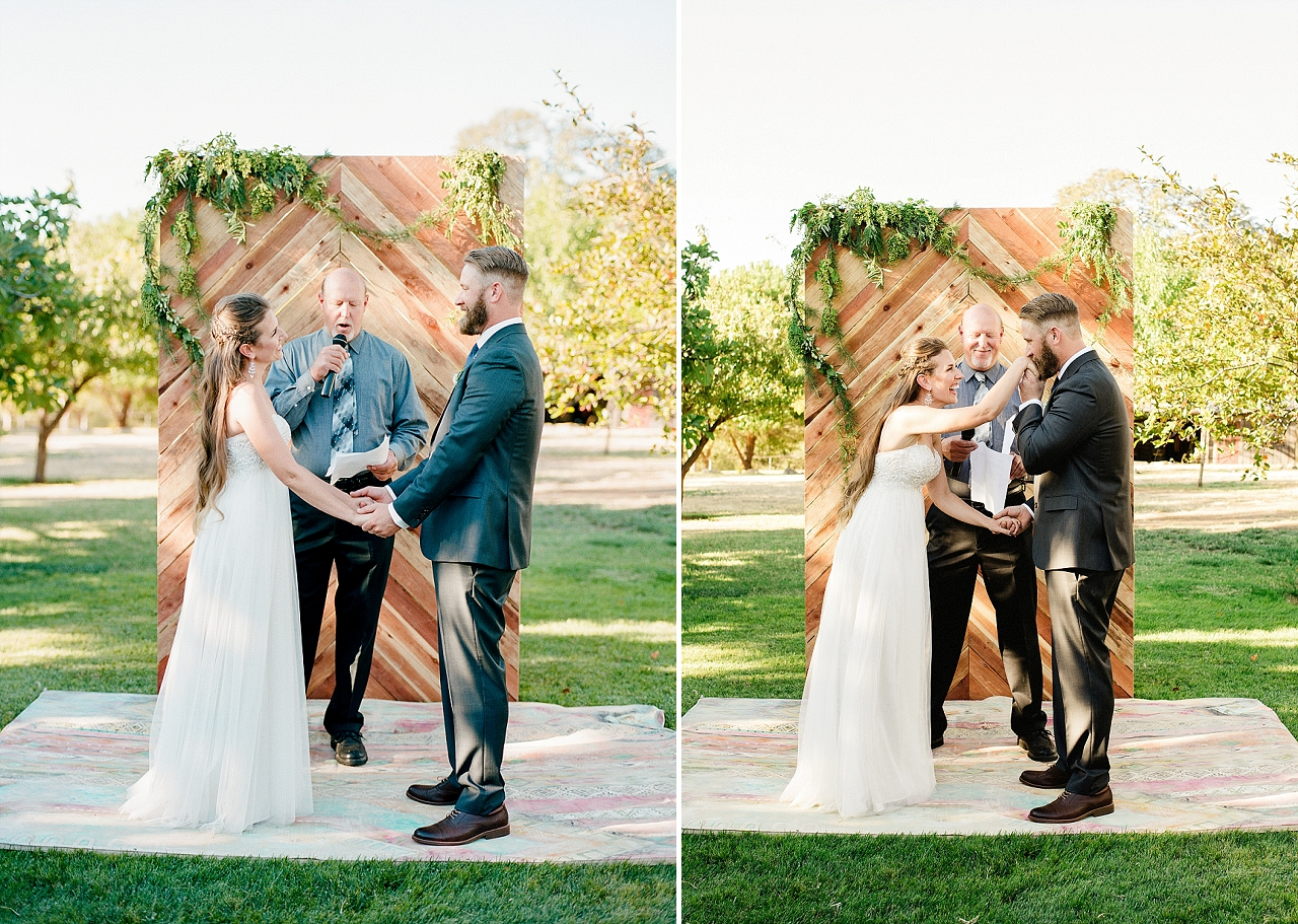Rustic Sacramento Outdoor Wedding