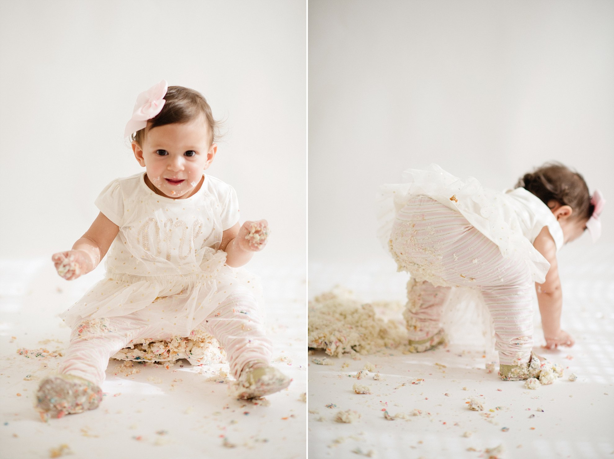 Cake Smash Photographer Roseville - Sarah Maren Photography