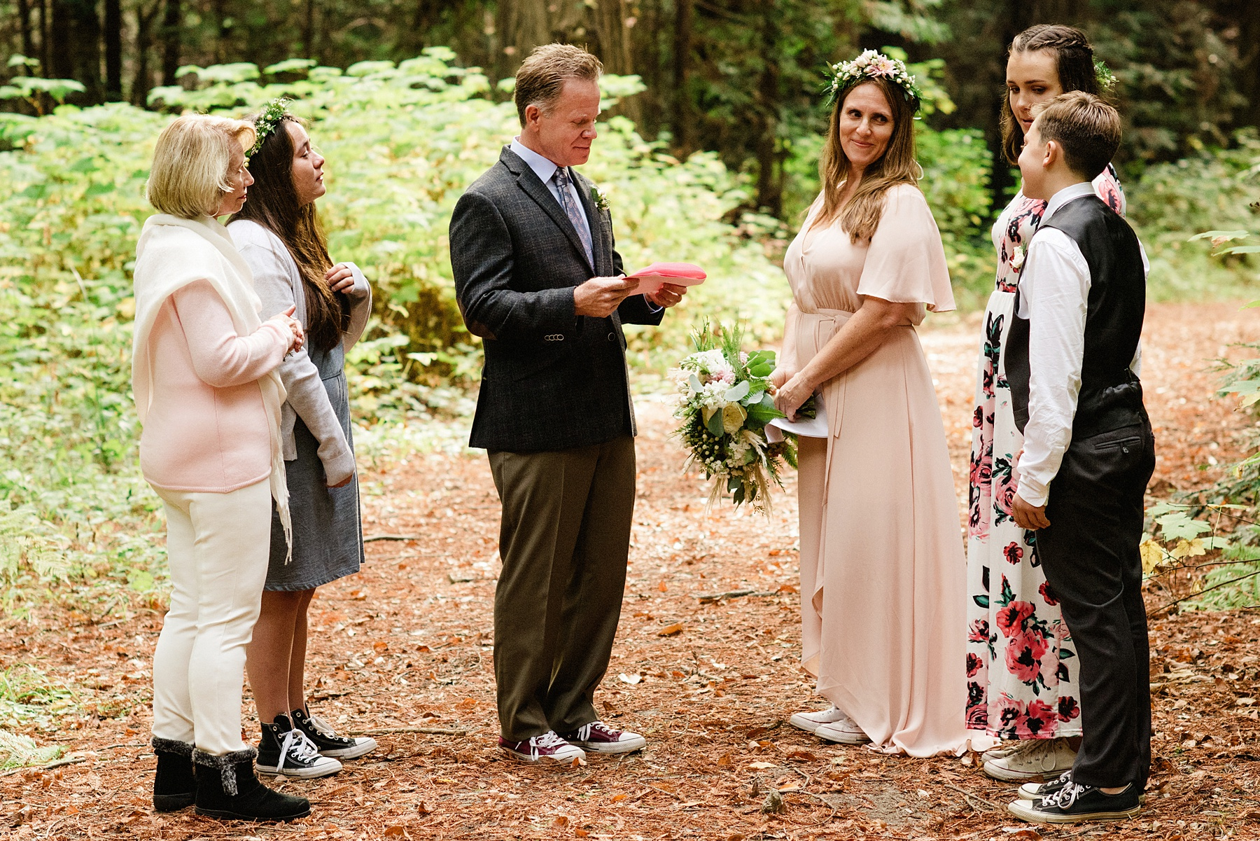 California redwoods elopement photographer - Sarah Maren Photography