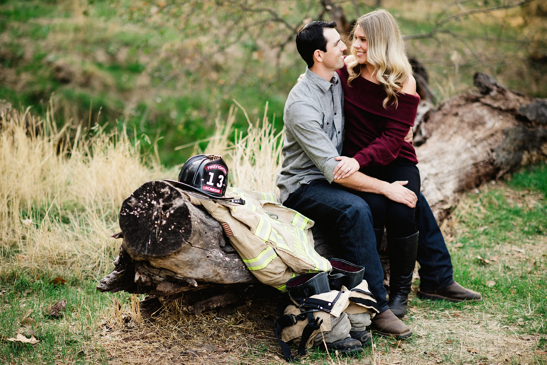 Outdoor Engagement Session - Sarah Maren Photography