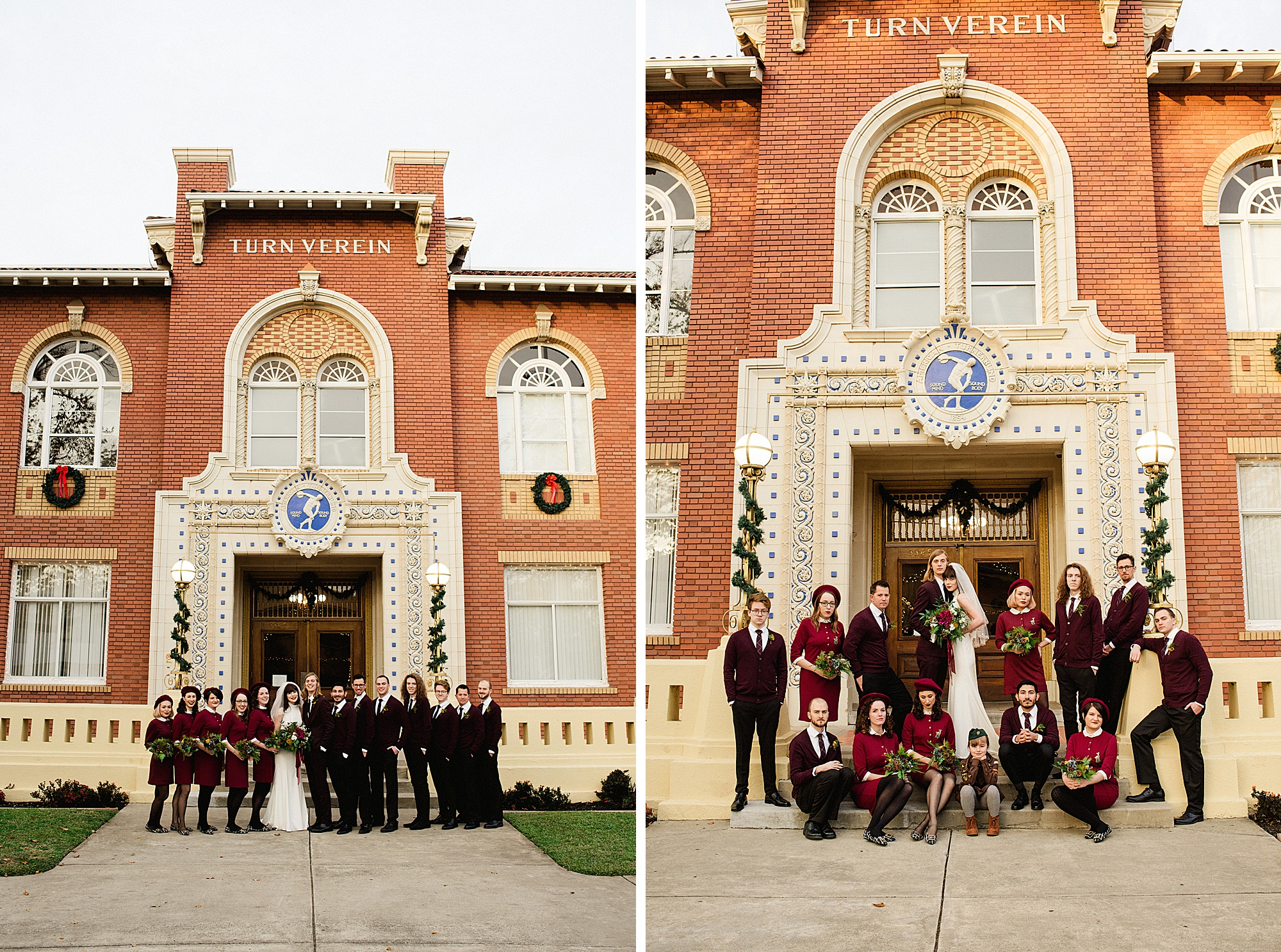 Sacramento Turn Verein Wedding by Sarah Maren Photography
