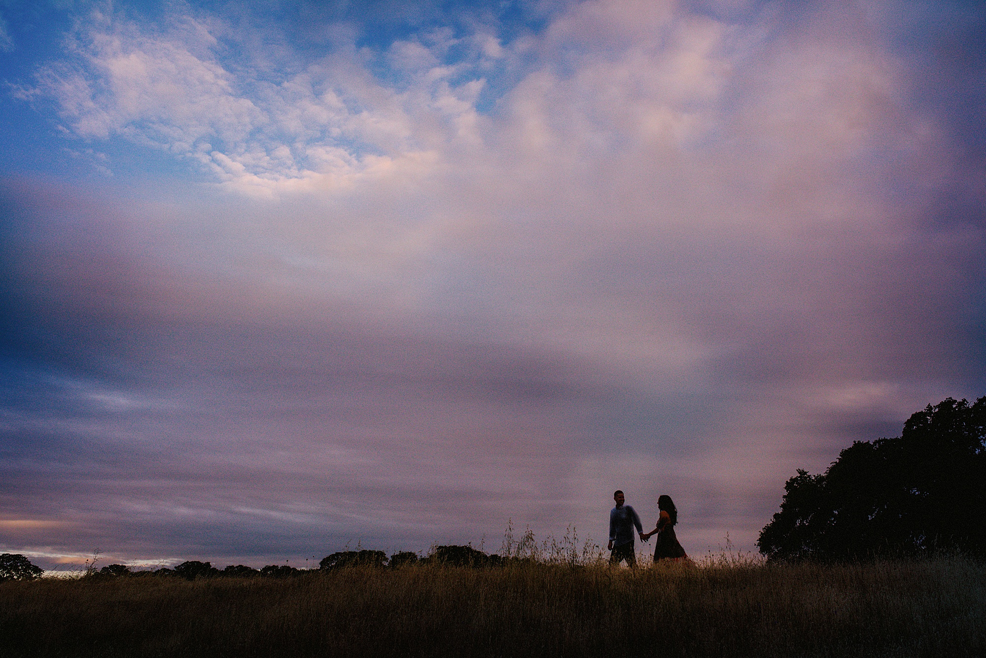 Roseville Sunrise Engagement Session - Sarah Maren Photography
