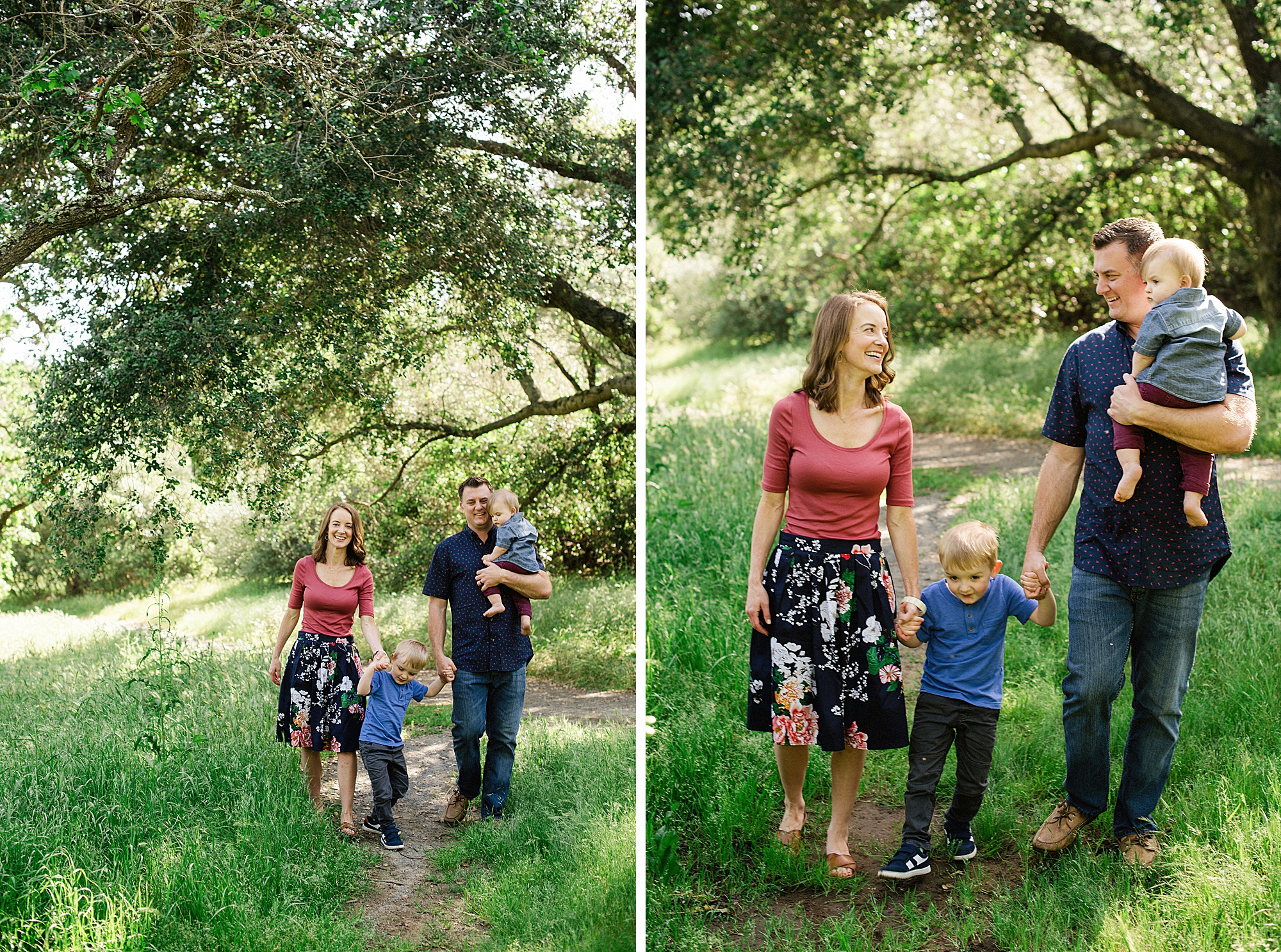 Walnut Creek Family Portraits - Sarah Maren Photography