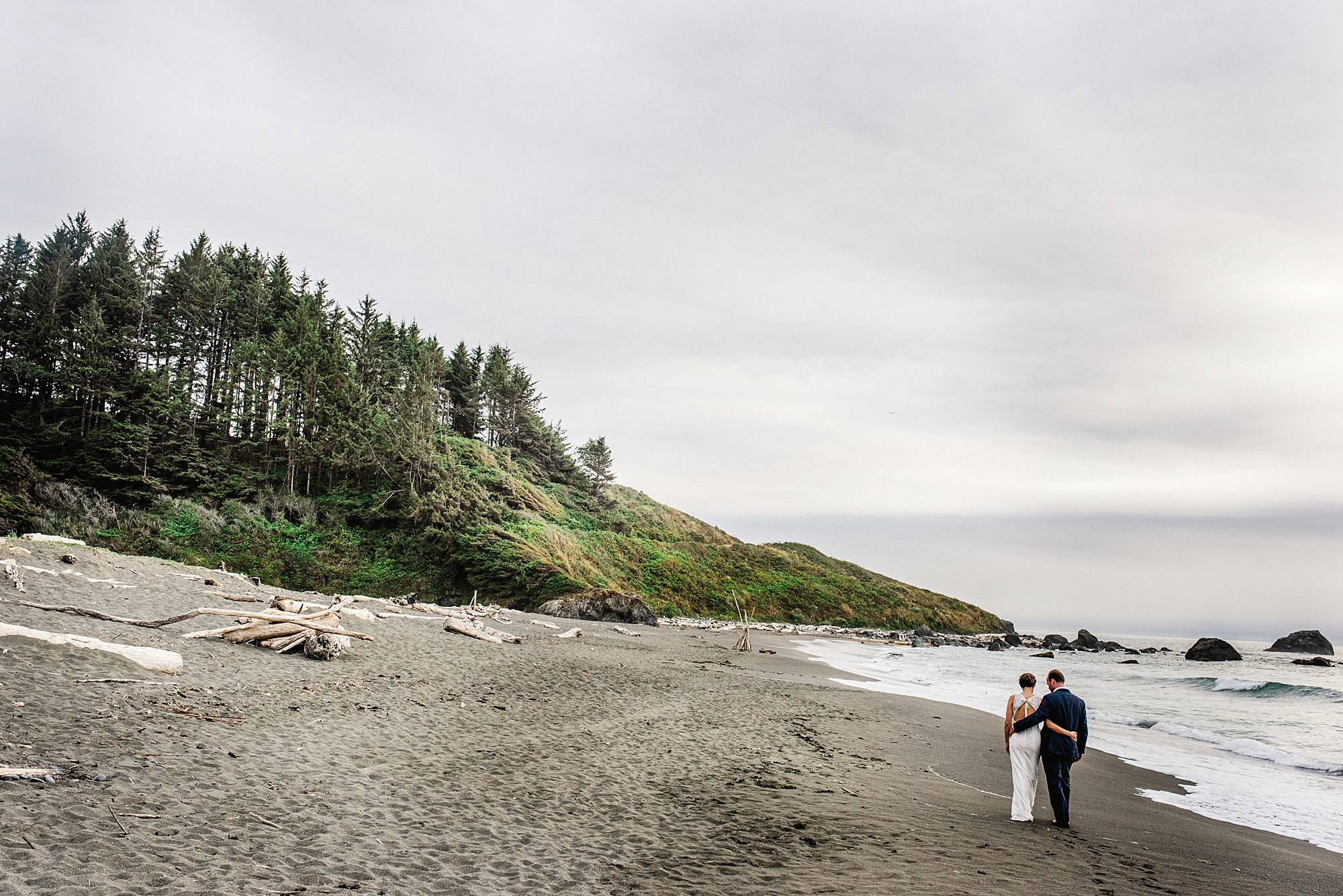 Redwoods National Park Elopement - Sarah Maren Photography